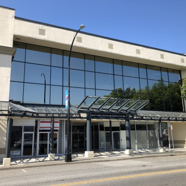 Chilliwack Office & Retail Space for Lease - Building Frontage